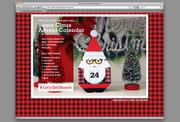 Santa Claus Advent Calendar