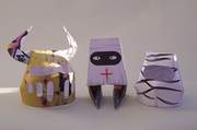 Medieval Knights papertoys