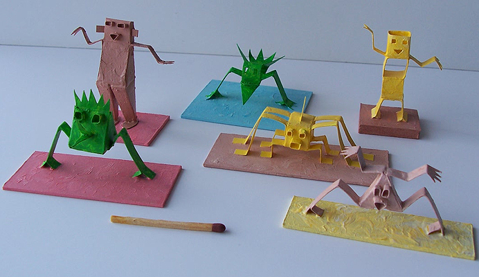 Group of miniatures.