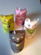 Maneki Neko the Lucky Cat by 3EyedBear