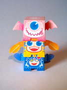 Paper Totem Little Monsta's by Sal Azad
