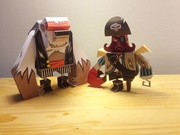 Bear and Captian Crab Sparrow