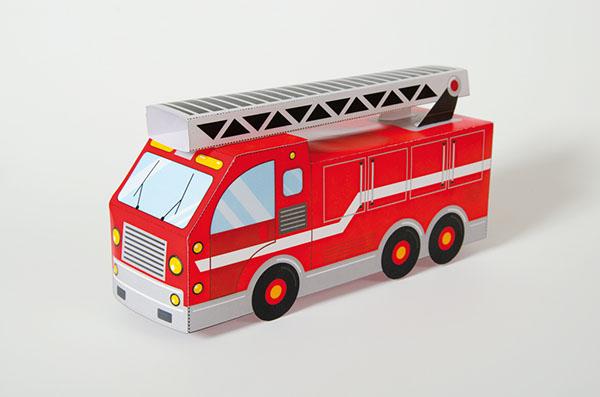 Le camion-pompier