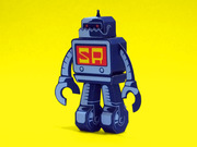 stickerobot fan-art papertoy