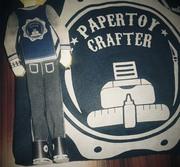 Click click..#papertoy #varsity #apparel #promotion