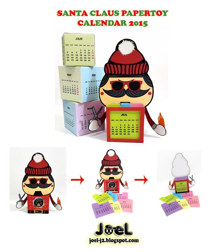 Santa Calendar 2015