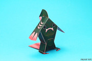 Fingar the fish monster paper toy - Turn