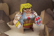 Eternians He-Man Paper Craft Toy Model - Main