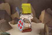 Eternians He-Man Paper Craft Toy Model - Side
