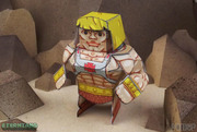 Eternians He-Man Paper Craft Toy Model - No Weapons