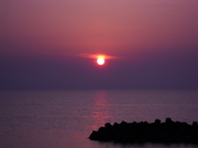 Sun Set over Sado 002