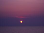 Sun Set over Sado 004