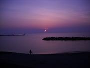Sun Set over Sado 003