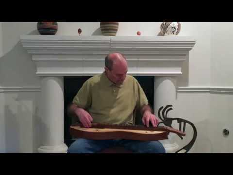 Planxty Hewlett - Mark Gilston on mountain dulcimer