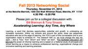 2013 LIASCD Fall Networking Social - Accelerating Learning: Any time, Any where
