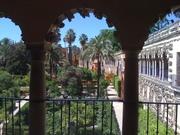 gardens of Alcazar, Seville, Spain