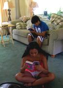 my kids reading