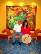 At the Atlantis on Paradise Island, BH.