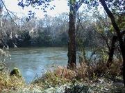 The Flint River in Albany, GA