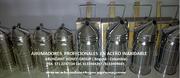 AHUMADORES PROFESIONALES EN ACERO INOXIDABLE,APICULTURA,ABEJAS,APIARIOS