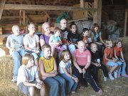 Apple Orchard with Children's Alopecia Project of Michigan