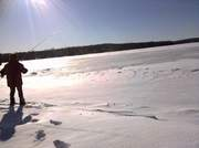 Ice fishing Attempt
