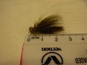 Olive baitfish jig