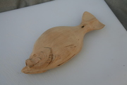 Crappie carving 2