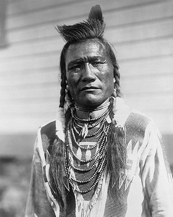 Native American by Edward Curtis 1910