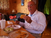 One evenings supper , Fresh Walleyes.......