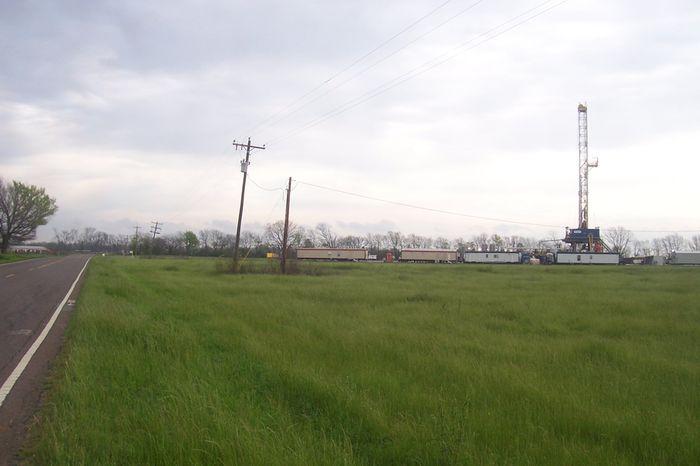 March 17, 2012  Red River Parish LA drilling Serial No.  244087 HA RA SUN; LEGRANDE