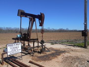 Oil Well In SE Red River Parish In Feb. 2016