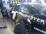 Tire changes, getting ready to go back out