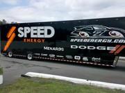 Speed Energy Hauler entering pocono on thursday