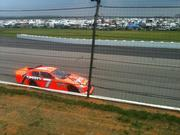 Robby During the Race at Pocono