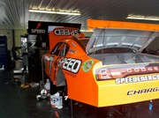Robby Gordon's car after qualifying