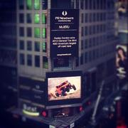 The SPEED Energy Truggy in Time Square