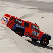 Robby Gordon during Stage 1 of the 2012 Dakar Rally