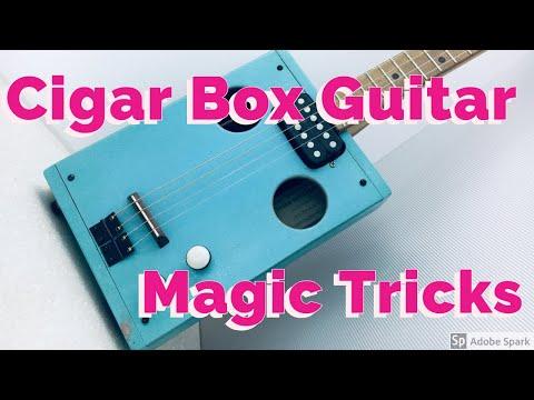 Cigar Box Guitar - MAGIC