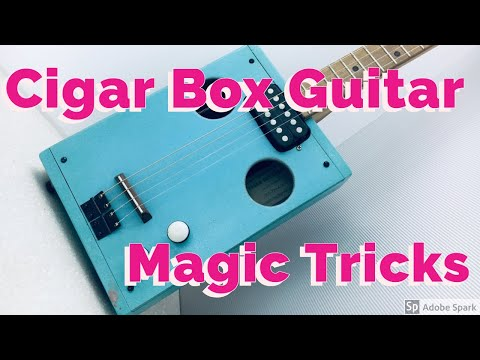 Cigar Box Guitar - MAGIC