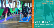 200 Hour Yoga Teacher Training - July 2019