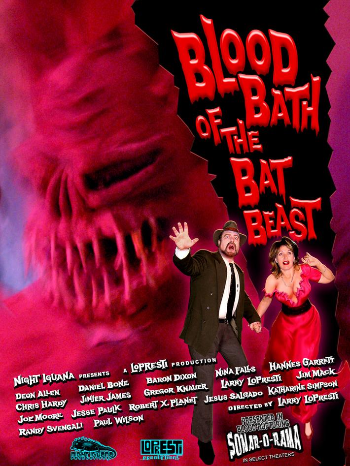 One-Sheet for Blood Bath Of The Bat Beast