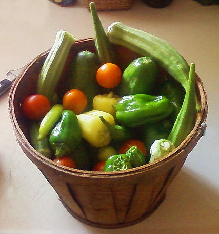 Basket of Fruit & Veggies