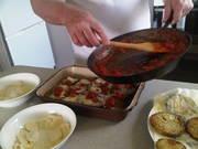Melanzana e Pomodoro Parmigiana ala hubby's recipe
