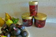 fig. pear + cardamon jam