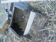 lawn Mower Catcher as laying box