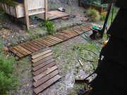 Duckboards from scrap