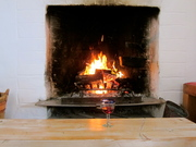 A Rumford fireplace great draw and gives off a lot of heat.. a clean burn@ http://studiojourney.blogspot.co.nz