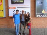Con mis hijos