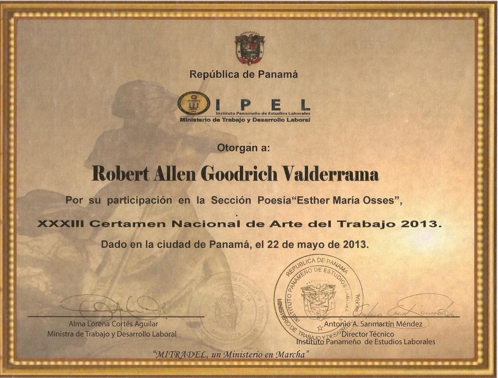 Copia de award